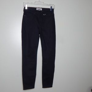 everlane women black jeans SZ 25 Ankle